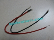 WS602 Heater Wires: (you get a red and a black wire with this kit).